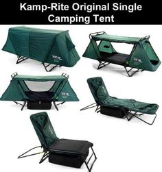 Kamp Rite Original Single Cot Tent