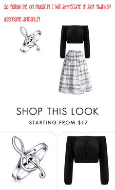 """follow me on music.ly❤"" by armani-ly ❤ liked on Polyvore featuring Bling Jewelry and Chicwish"