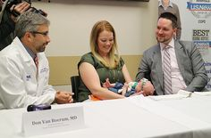 Family reunites with Intermountain Emegency Team which saved young mom's life after a  blood clot nearly killed her.