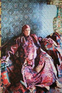 Rudolf Nureyev at home at Li Galli
