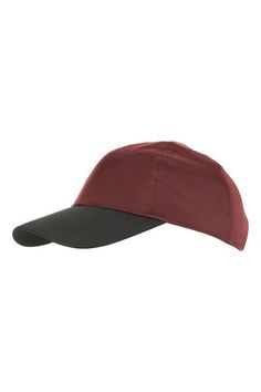 Keep your basics simple but cool with this red cap in a nylon finish. Top 2234a5fe5aee