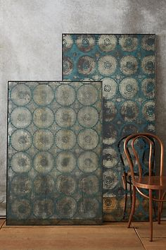 Lace Printed Mirror #anthropologie