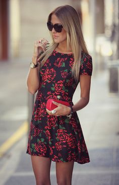 Motel topi tea mini dress fashion