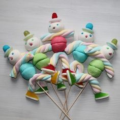 Brochette de bonbons boy