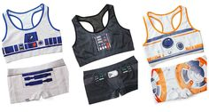 These 'Star Wars' Sports Bras And Boyshorts Are The Motivation I Need