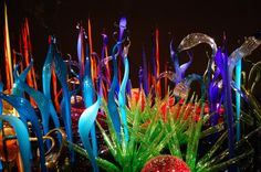 Chihuly Glass Museum - Seattle I've only seen this from the outside,  but it looks breathtaking!