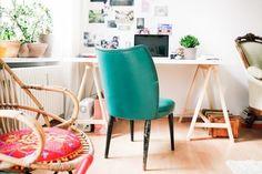Фотография: Офис в стиле Современный, Стиль жизни, Советы, рабочее место дома, рабочий стол, рабочее пространство, как сделать рабочее место в квартире – фото на InMyRoom.ru