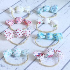 Candy11 Kawaii Accessories, Hair Accessories For Women, Handmade Accessories, Handmade Jewelry, Easy Crafts For Kids, Diy For Kids, Diy And Crafts, Unicorn Crafts, Handmade Hair Bows