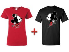 Mickey Minnie Disney Couple T shirt Inspired - Mr. and Mrs. Mickey and Minnie s-5xl.Perfect Gift For your Soul Mate Love Valentine on Etsy, $19.99