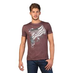 Gas Scuba 542758 Men's Graphic T-Shirt