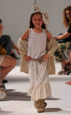 Lace trims, longer lengths, metal studding, this outfit has it all, at Twin-Set Girl for summer 2013