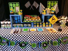Motocross birthday party ideas photo 1 of 9 catch my party. Motorcycle Birthday Cakes, Motocross Birthday Party, Bike Birthday Parties, Dirt Bike Birthday, Motorcycle Party, Boy Birthday, Birthday Ideas, Valentino Rossi, Dirt Bike Party