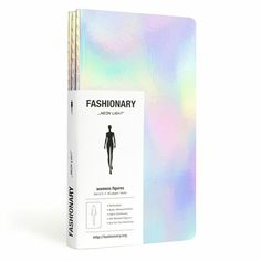 Fashionary Neon Light Sketchbook is available now!