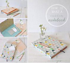 How to Make a Custom Notebook