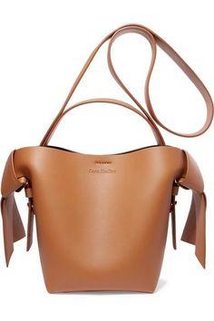 76306ce0fb Acne Studios Musubi Mini Knotted Leather Shoulder Bag Designer Shoulder Bags