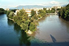 La jonction du Rhône et de l'Arve, Genève