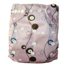 1 BABY MINKY  AI2 PRINT RE-USABLE CLOTH DIAPER NAPPY+1 INSER M25