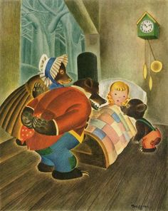 Eloise Wilkin - Goldilocks and The Three Bears