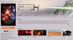 Star Wars: El despertar de la fuerza llegará a iTunes el 1 de abril - http://www.actualidadiphone.com/star-wars-el-despertar-de-la-fuerza-llegara-a-itunes-el-1-de-abril/
