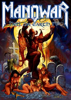Manowar / Hell on Earth IV / Album cover / 2005 (Ken Kelly)