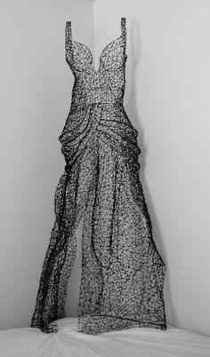 """ A Vogue Idea""   Kristine Mays, breathes life into wire"