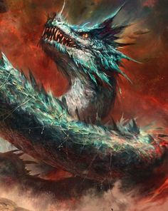 Serpent Dragon by Halil Ural