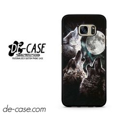 Mountain's Three Wolf Moon DEAL-7443 Samsung Phonecase Cover For Samsung Galaxy S7 / S7 Edge