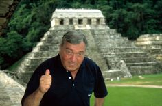 Erich von Daniken - When I was a kid I always thought outside of the box and questioned things. Although I was proud of that, I felt like an outsider. It was nice to find von Daniken's books and realize I wasn't alone.