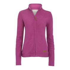 Ladies full zip Macaroni in a chunky soft cotton mix features hand pockets and dropped shoulders completed with a jersey lined back yoke. This Macaroni style gives the appearance of being a Jacket whilst keeping you as snug as a bug - you wont wear anything else! Weird Fish, Hooded Sweatshirts, Hoodies, Purple Orchids, Menswear, Macaroni, Zip, Womens Ski, Ski Jackets