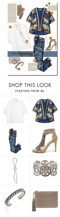 """""""Crane."""" by s-elle ❤ liked on Polyvore featuring Monki, Zara, H&M, Chinese Laundry, The 2 Bandits, Charlotte Russe, DANNIJO, Monsoon, Chanel and Wintertospring"""