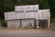Ben's Garage, Dunsmuir, CA.