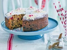 Voňavý vianočný koláč so sušeným ovocím - Žena SME Vanilla Cake, Muffin, Ale, Cookies, Breakfast, Desserts, Food, Diet, Essen
