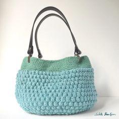 Isabelle Kessedjian: bag crochet stitch Hazel Sc #handbag #crochet