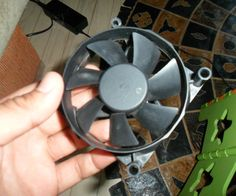 Ancien PC ventilateur ------> éolienne en 10 minutes