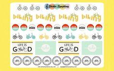 Bike Planner Stickers