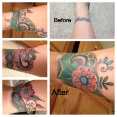 Cover up ankle tattoo.                                                                                                                    Image only