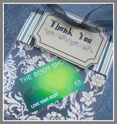 Cog Works: Volunteer Thank You Gift Card holder