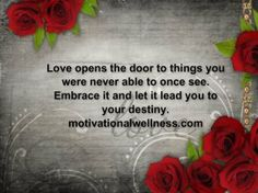 Are you letting love lead you? Read on and find out why it is so important to let it flow on through Let It Flow, Let It Be, Motivational Blogs, Love, Amor