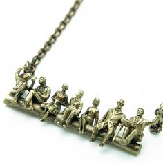 Peanut Gallery Necklace, $70, now featured on Fab.