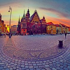 Wrocław City Centre / Wrocław, Poland Tag Photo, Mystery, Europe, Mansions, Country, House Styles, City, Building, Places