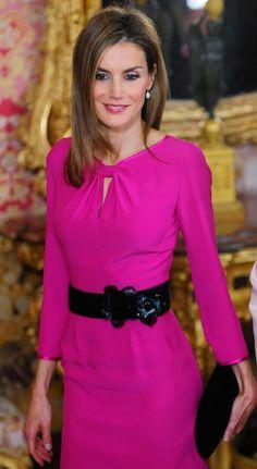 Queen Letizia of Spain 10/1/2014                                                                                                                                                     Más