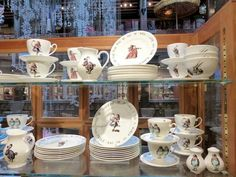 Alice in Wonderland Dinner set at Liberty of London