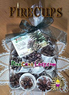 Candle Wedding Favors, Candle Favors, Camping Foil Dinners, Pinecone Firestarters, Christmas Drinks, Christmas Gifts, Scented Pinecones, Fun Easy Crafts, Wedding Wraps