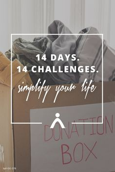 Get daily decluttering tips sent right to your inbox. Learn how to spend less and live more with this free Simple Living Challenge.