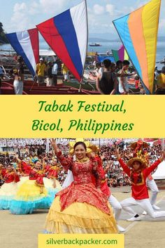 The Tabak Festival is held annually in June. Tabak Festival celebrates the traditions and culture of Tabaco City, Albay, Philippines
