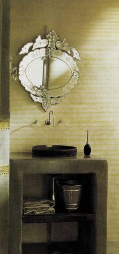 Venetian glass mirror...could it be more beautiful???