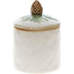 Pine Cone Ceramic Canister - Classic Christmas - Christmas Decorations - Christmas at Home - Christmas - TK Maxx