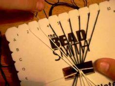 How to Make a Woven Friendship Bracelet on a Kumihimo Plate