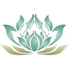 art nouveau / stencil - lotus flower This would be great as a tatt Future Tattoos, Love Tattoos, Beautiful Tattoos, Nouveau Tattoo, Art Nouveau, Lotus Tattoo, I Tattoo, Motif Floral, Stencil Designs