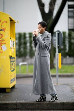 Pin for Later: The Best Street Style Looks From Milan Fashion Week Day 6 Tamu McPherson
